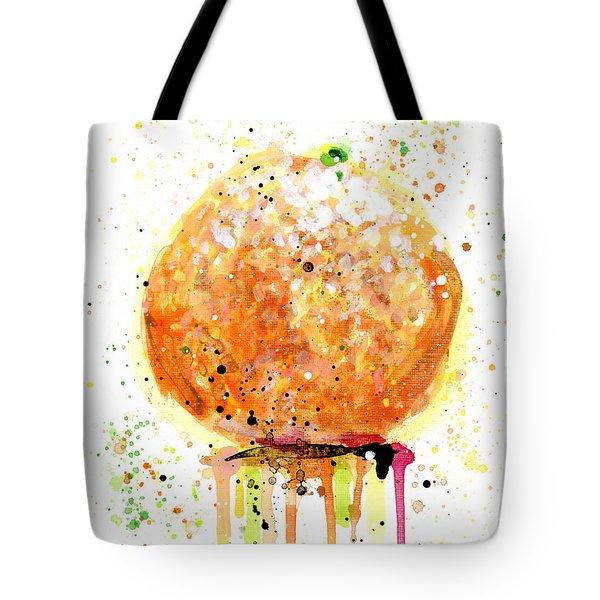 Orange 2 Tote Bag