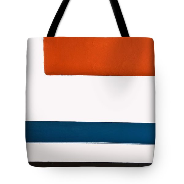 Orange Above Tote Bag