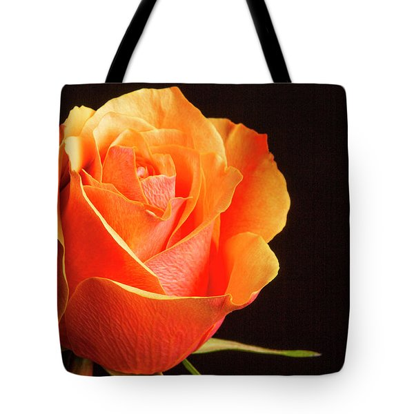 Orange And Yellow Rose 5534.02 Tote Bag