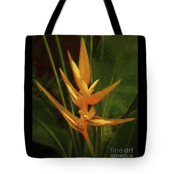 Orange Art Tote Bag