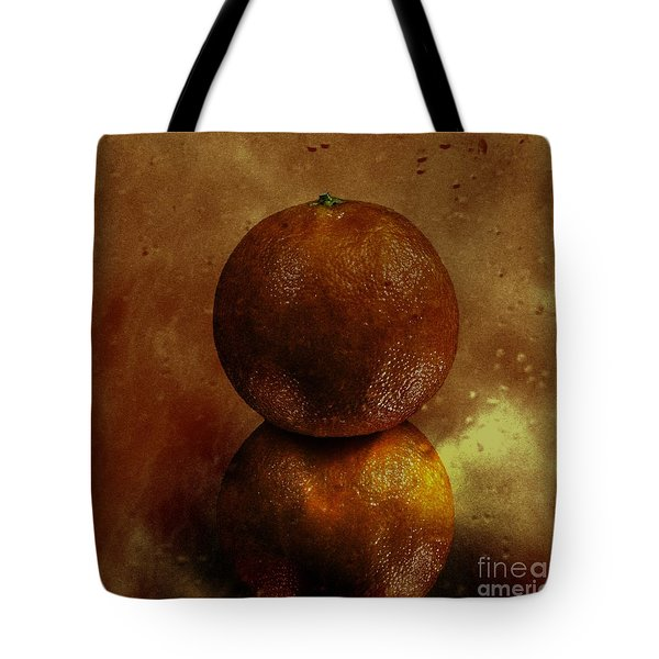Orange Art Tote Bag