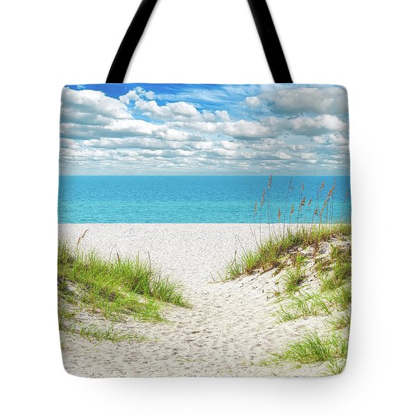 Orange Beach Al Seascape 1086a Tote Bag