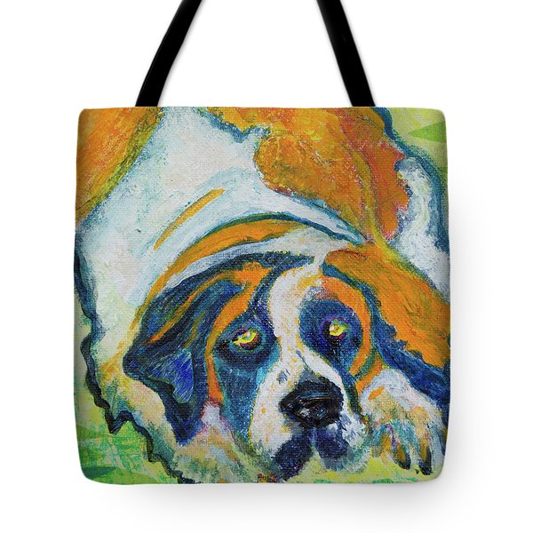 Orange Bernard Tote Bag