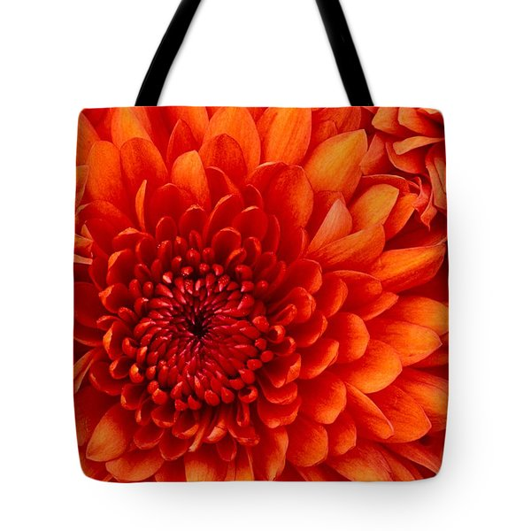 Orange Bloom Tote Bag