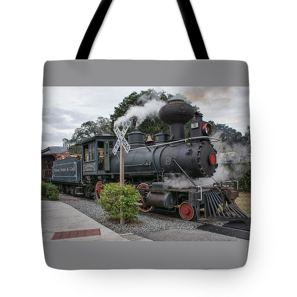 Movie Train Tote Bag