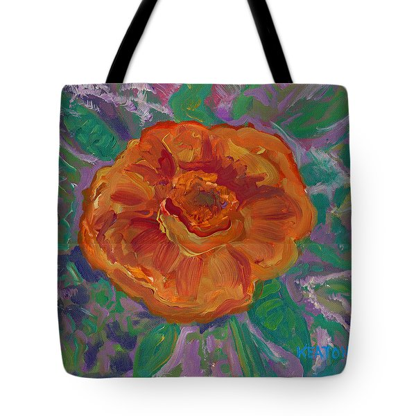 Orange Blossom Tote Bag by John Keaton