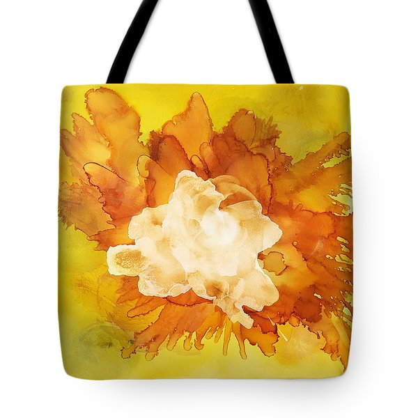 Orange Blossom  Tote Bag by Suzanne Canner