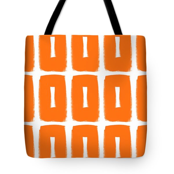 Orange Boxes- Art By Linda Woods Tote Bag
