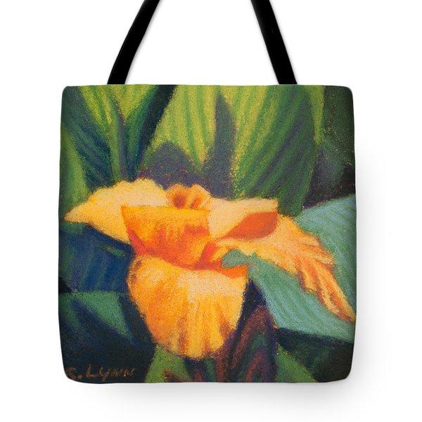 Orange Cannas Tote Bag
