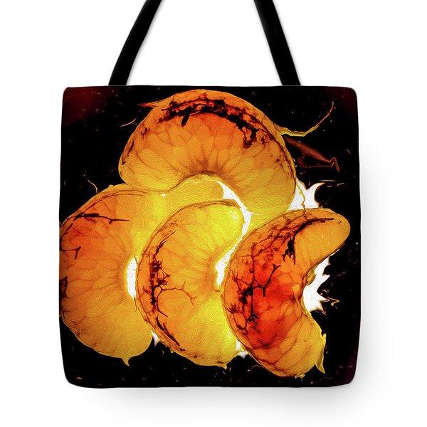 Orange Choc Tote Bag