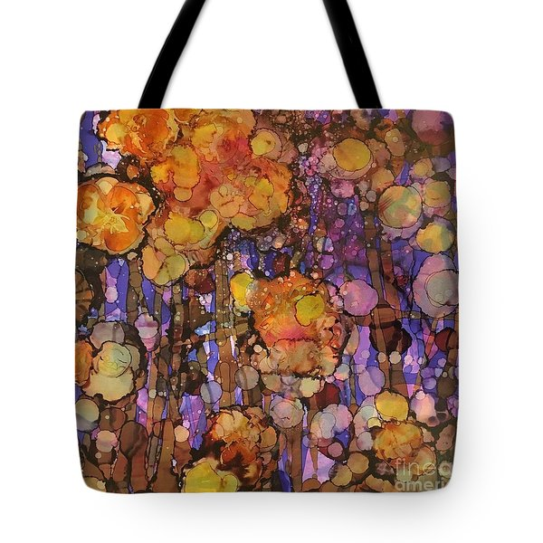 Passion Poppies Tote Bag