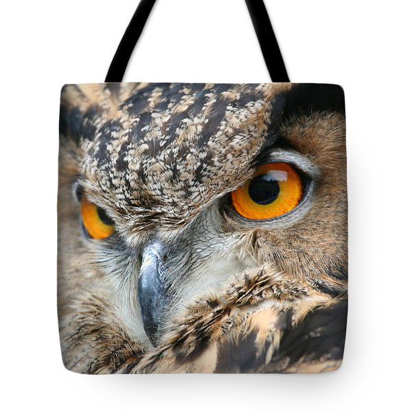 Tote Bag featuring the photograph Orange Crush by Laddie Halupa