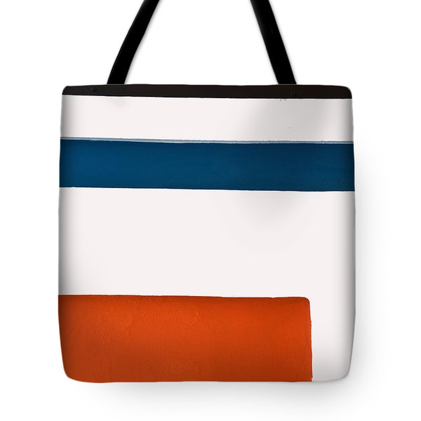 Orange Down Below Tote Bag