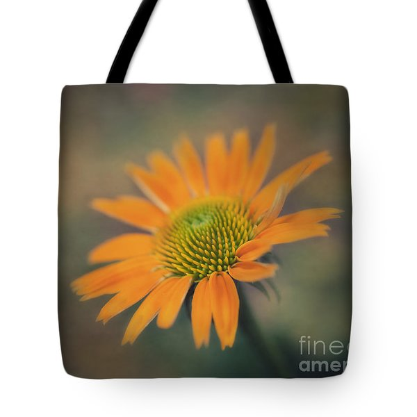 Orange Echinacea Dreams Tote Bag
