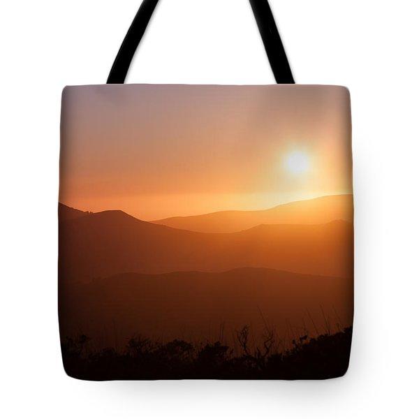 Orange Euphoria Tote Bag