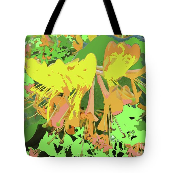 Orange Flowers By M.l.d. Moerings 2015 Tote Bag