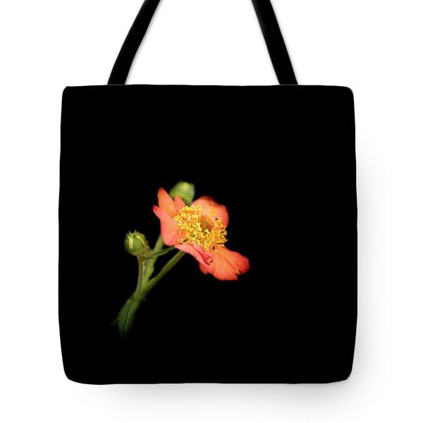 Orange Flowers In The Summer Tote Bag