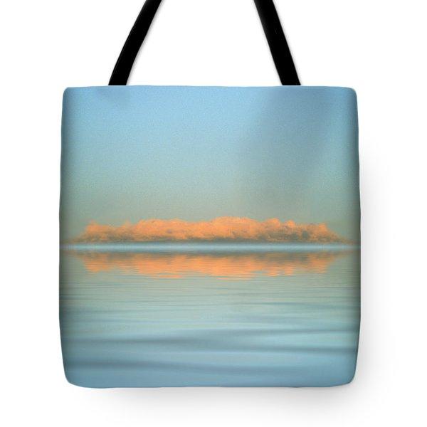 Orange Fog Tote Bag by Jerry McElroy