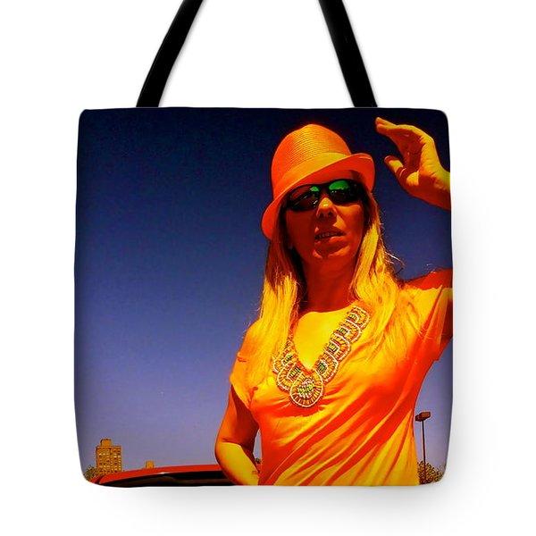 Orange Friday Tote Bag