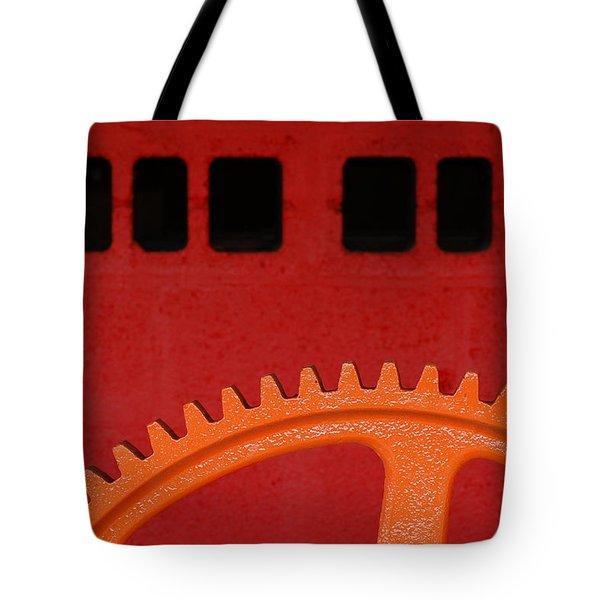 Orange Gear 1 Tote Bag