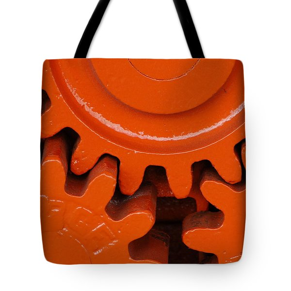 Orange Gear 2 Tote Bag