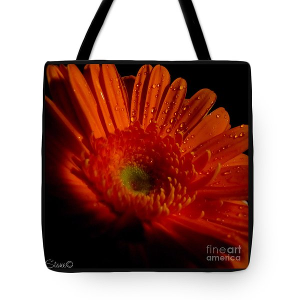 Orange Gerbera Tote Bag