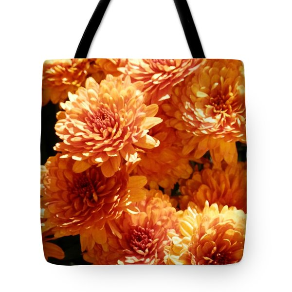 Orange Glory Tote Bag