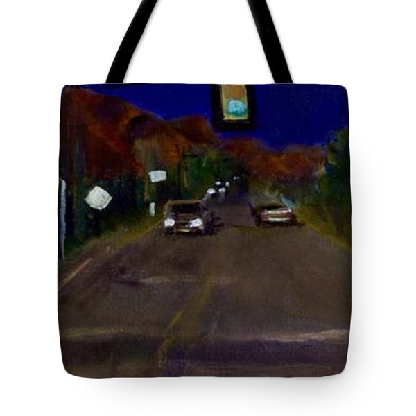 Orange Grove And La Canada Tote Bag