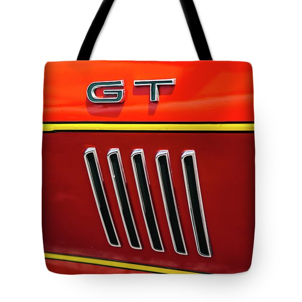 Orange Gt Tote Bag