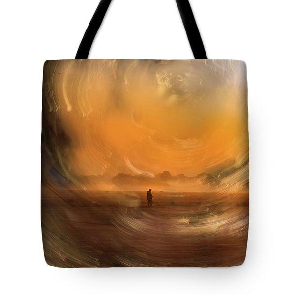 Orange Gust Tote Bag