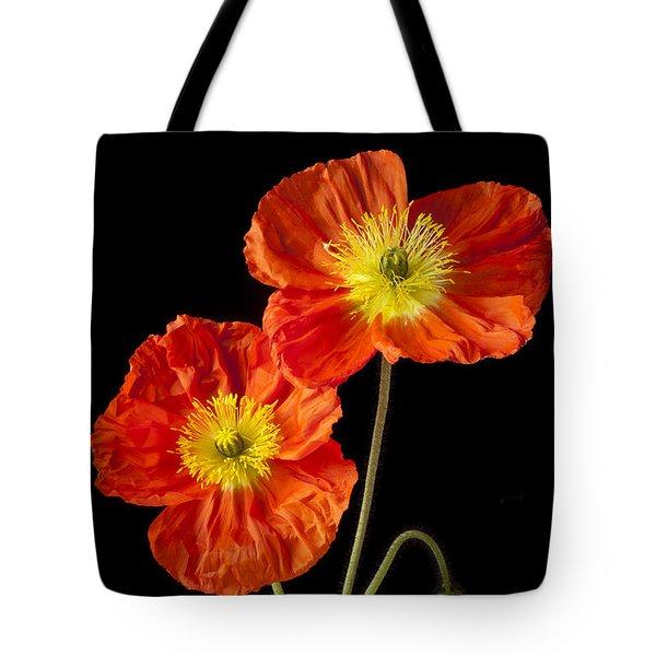 Orange Iceland Poppies Tote Bag by Garry Gay