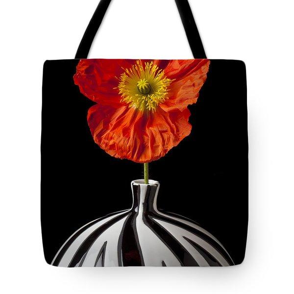 Orange Iceland Poppy Tote Bag by Garry Gay