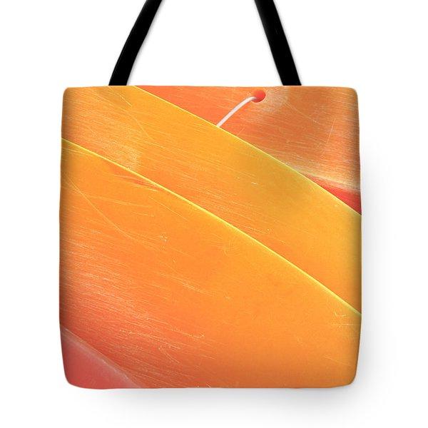 Orange Kayaks Tote Bag by Brandon Tabiolo - Printscapes