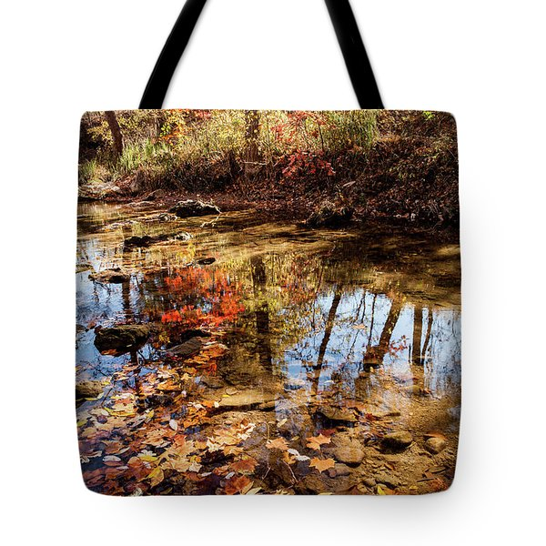 Tote Bag featuring the photograph Orange Leaves by Iris Greenwell