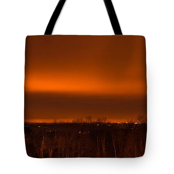 Orange Light Tote Bag