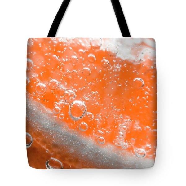 Orange Martini Cocktail Tote Bag