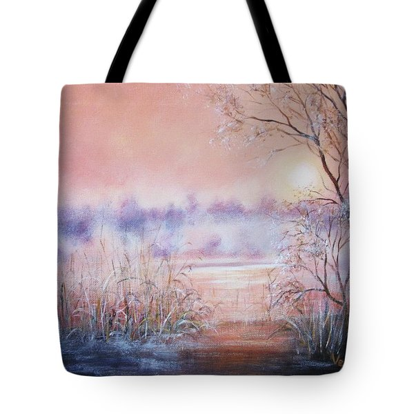 Orange Mist Tote Bag