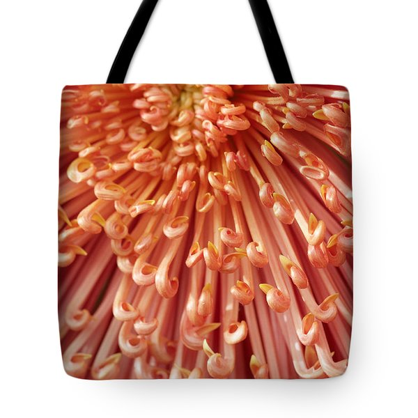Orange Mum Tote Bag