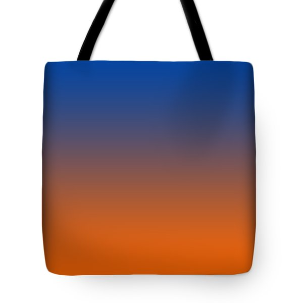 Orange Ombre Tote Bag