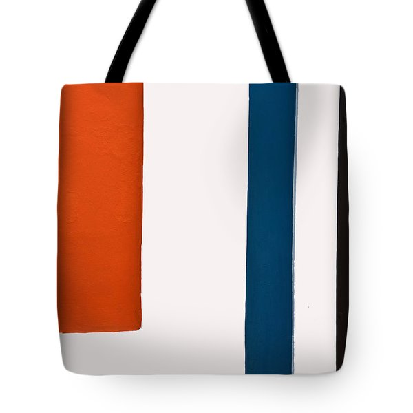 Orange On The Left Tote Bag