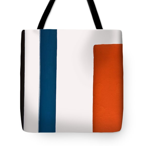 Orange On The Right Tote Bag