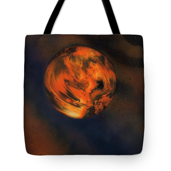 Orange One Tote Bag