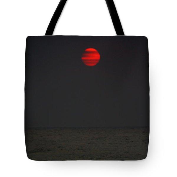 Orange Onyx Sunrise Tote Bag
