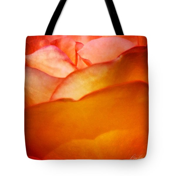 Orange Passion Tote Bag