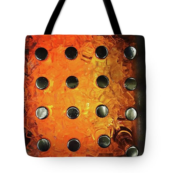Orange Pop! #orange #pop #sodapop Tote Bag