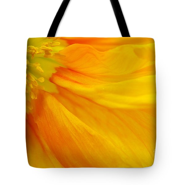 Orange Poppy II Tote Bag