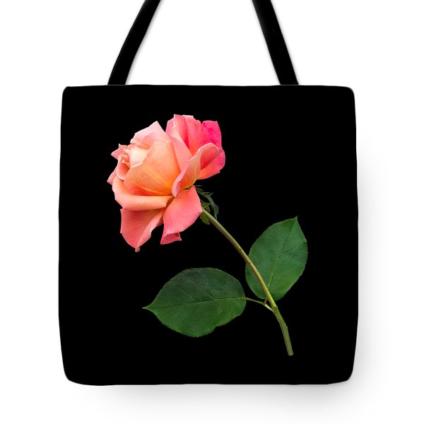 Orange Rose Specimen Tote Bag by Jane McIlroy