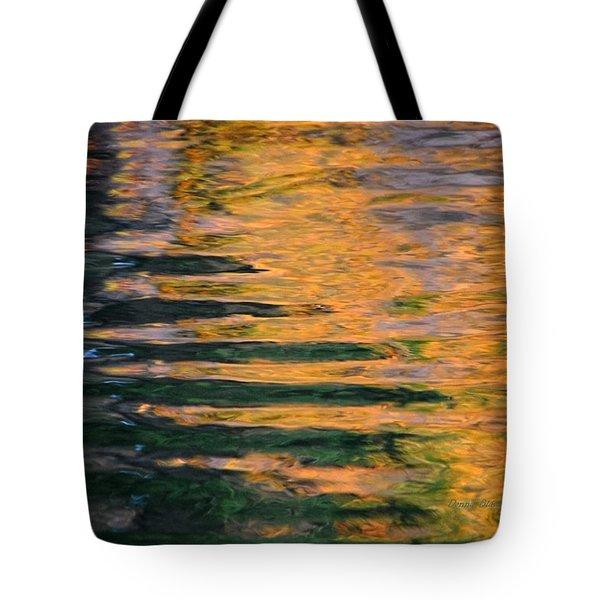 Orange Sherbert Tote Bag by Donna Blackhall