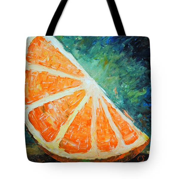 Orange Slice Tote Bag