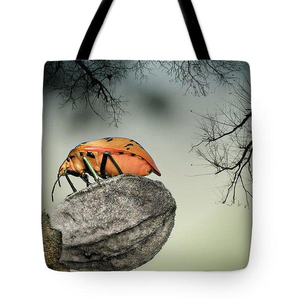 Orange Stink Bug 001 Tote Bag